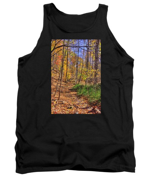 Maryland Country Roads - Autumn Colorfest No. 3 - Catoctin Mountains Frederick County Md Tank Top