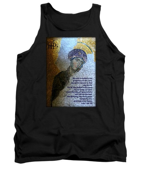 Mary's Magnificat Tank Top