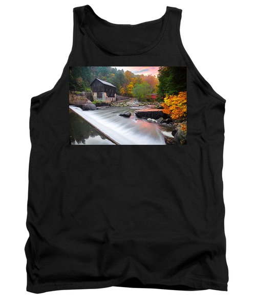 Mcconnell's Mill Fall  Tank Top