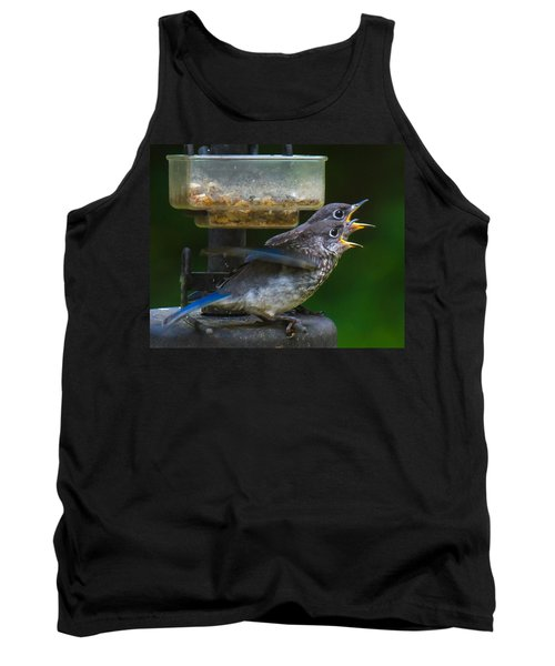 Tank Top featuring the photograph Me First - Me First by Robert L Jackson