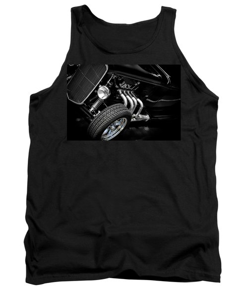 Hot Rod Tank Top featuring the photograph Mean Machine Classic by Aaron Berg