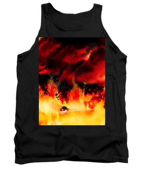 Meanwhile In Tartarus Tank Top by Persephone Artworks