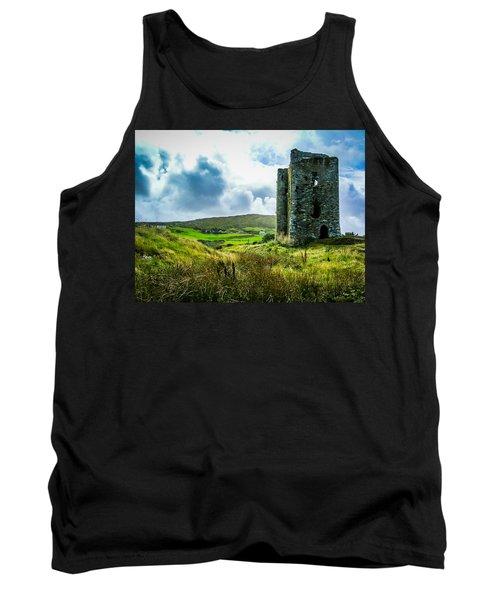 Medieval Dunmanus Castle On Ireland's Mizen Peninsula Tank Top