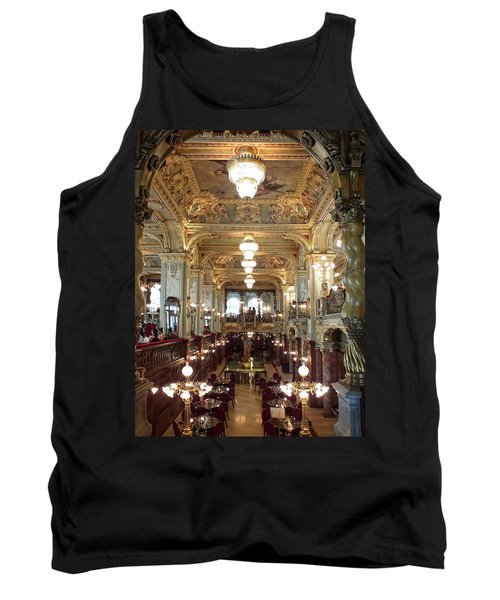 Meet Me For Coffee - New York Cafe - Budapest Tank Top