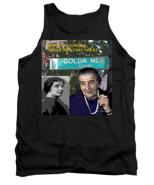 Meir Quote Tank Top