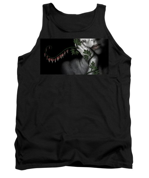 Tank Top featuring the painting Melancholy by Pat Erickson