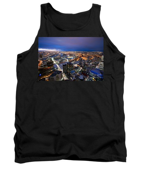 Melbourne At Night Tank Top