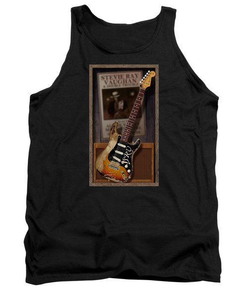 Tank Top featuring the digital art Memories Of Stevie by WB Johnston