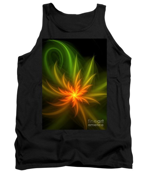 Tank Top featuring the digital art Memory Of Spring by Svetlana Nikolova