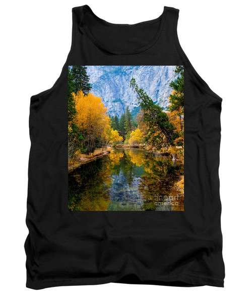 Merced River And Leaning Pine Tank Top