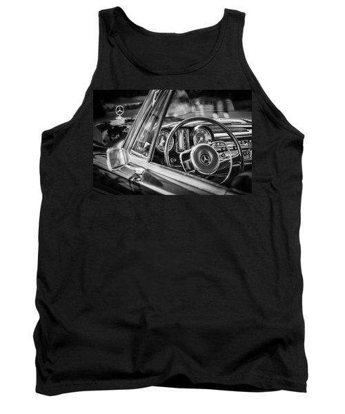 Mercedes-benz 250 Se Steering Wheel Emblem Tank Top by Jill Reger