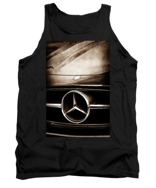Mercedes-benz Grille Emblem Tank Top by Jill Reger
