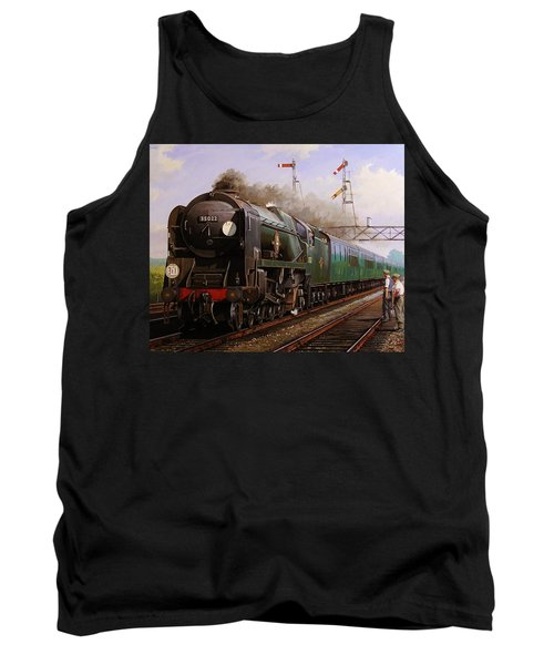 Merchant Navy Pacific At Brookwood. Tank Top by Mike  Jeffries