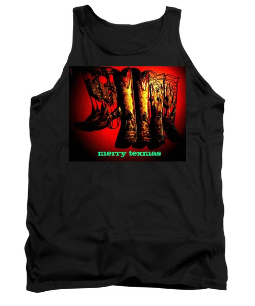 Merry Texmas Tank Top by Chris Berry