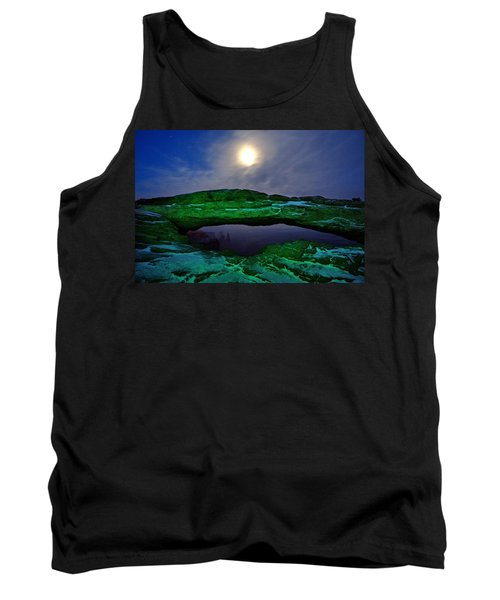 Tank Top featuring the photograph Mesa Arch In Green by David Andersen