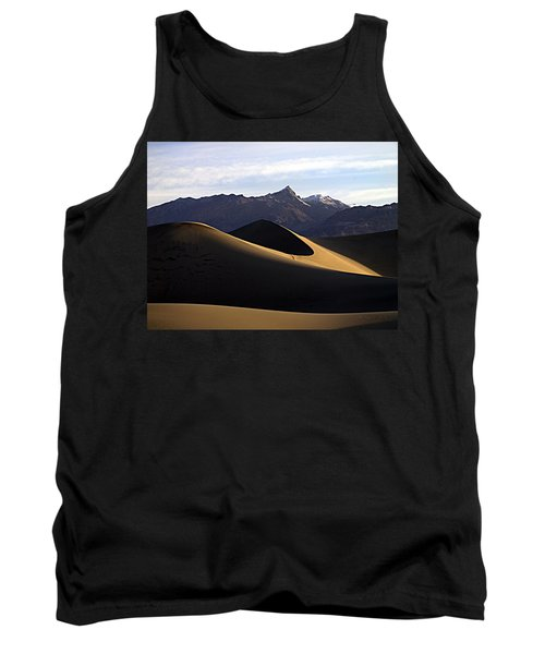 Mesquite Dunes At Dawn Tank Top by Joe Schofield