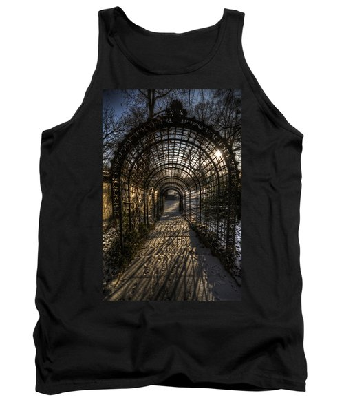 Metal Garden Tank Top by Nathan Wright