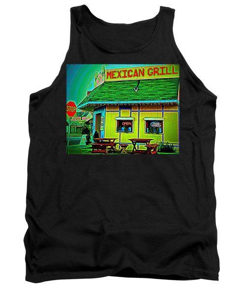 Mexican Grill Tank Top