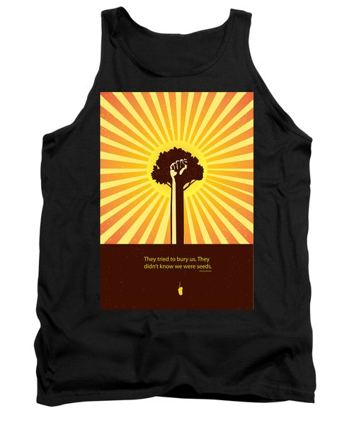 Mexican Proverb Minimalist Poster Tank Top