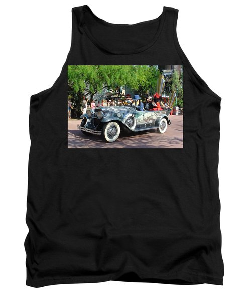 Tank Top featuring the photograph Mgm Famous 4 by David Nicholls
