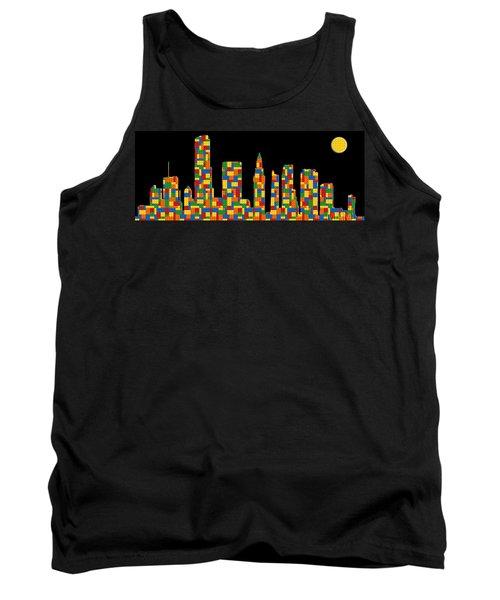 Miami Skyline 3 Tank Top