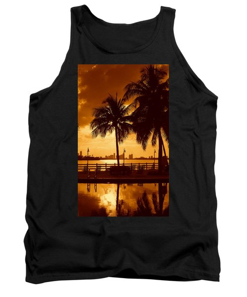 Miami South Beach Romance II Tank Top