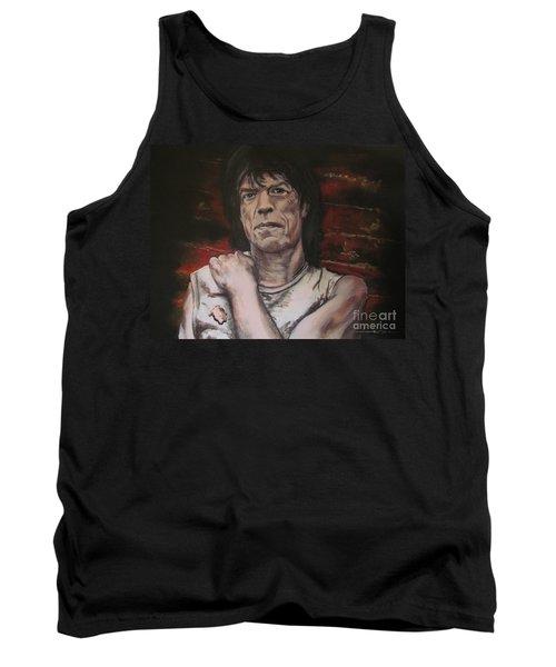 Mick Jagger - Street Fighting Man Tank Top