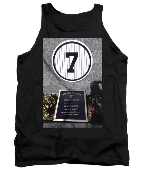 Mickey Mantle Tank Top by Allen Beatty