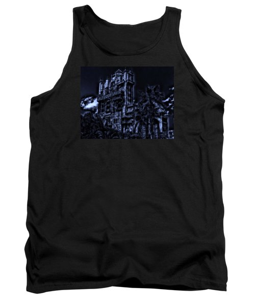 Midnight At The Tower Of Terror Tank Top
