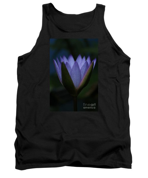 Midnight Water Lily Tank Top