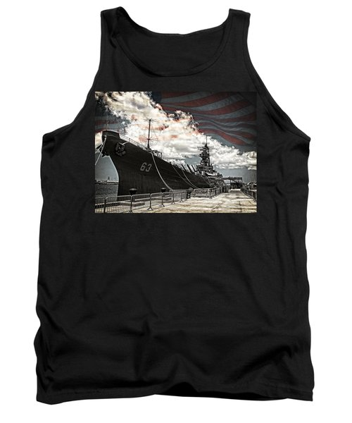 Mighty Mo U.s.s. Missouri Tank Top