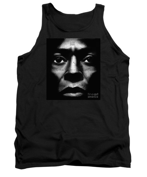 Miles Davis Tutu Tank Top by Michael Cross