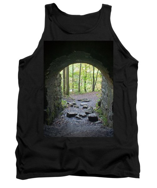 Miners View Tank Top by David Troxel