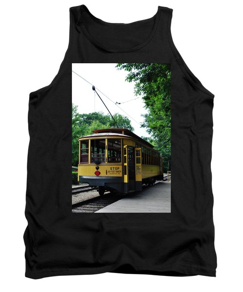 Tank Top featuring the photograph Minnesota Streetcar Museum by Kyle Hanson