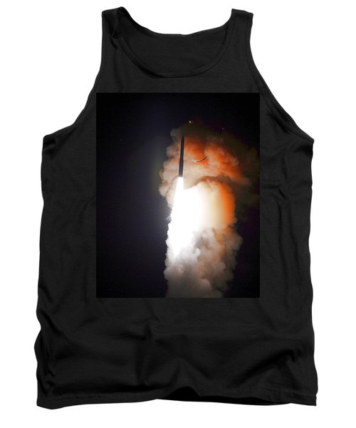 Tank Top featuring the photograph Minuteman IIi Missile Test by Science Source