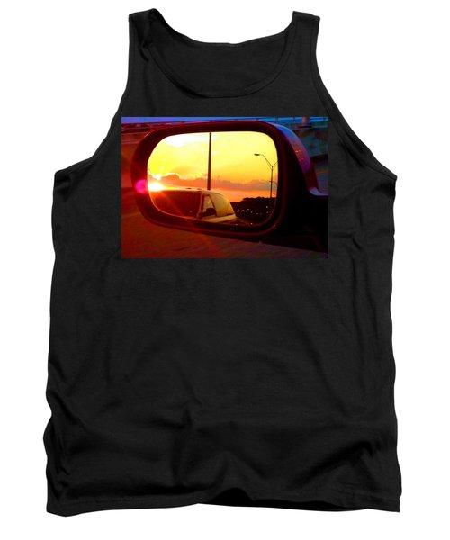 Mirror Sunset Tank Top