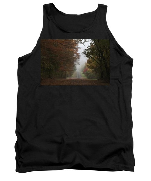 Misty Fall Morning Tank Top