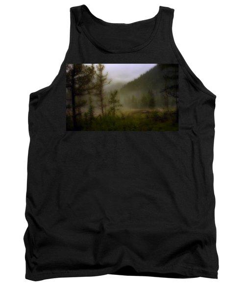 Tank Top featuring the photograph Misty Mountain by Ellen Heaverlo