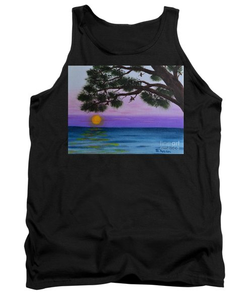 Mobile Bay Sunset Tank Top by Melvin Turner