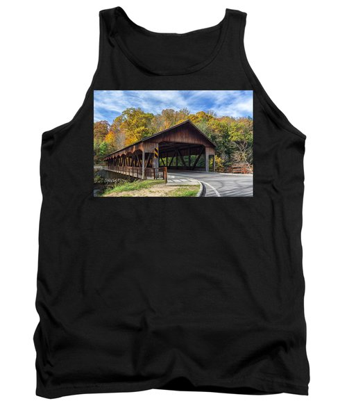 Mohican Covered Bridge Tank Top