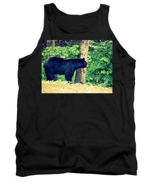 Tank Top featuring the photograph Momma Bear by Jan Dappen