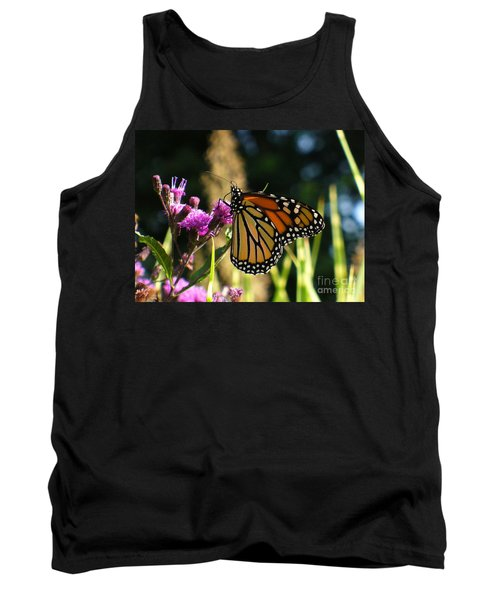 Tank Top featuring the photograph Monarch Butterfly by Lingfai Leung