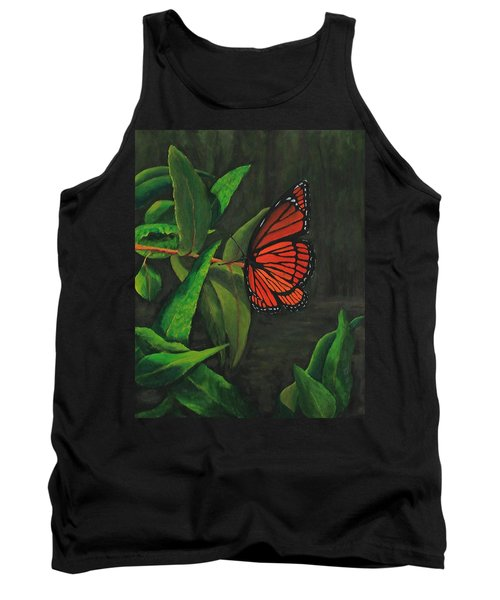 Viceroy Butterfly Oil Painting Tank Top