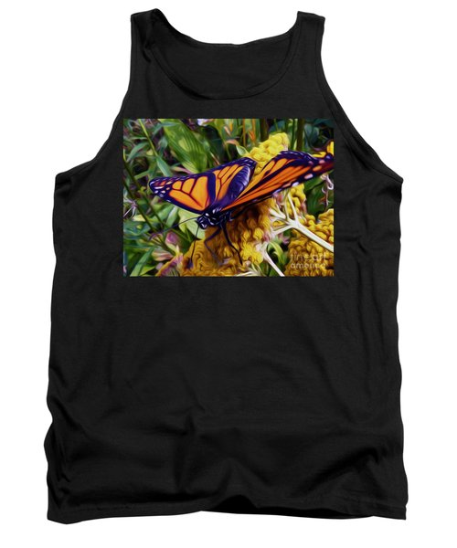 Monarch On Yarrow Tank Top