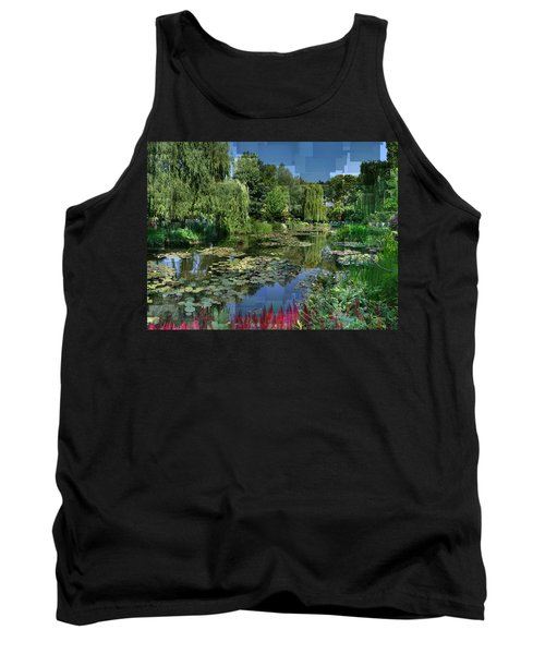 Monet's Lily Pond At Giverny Tank Top