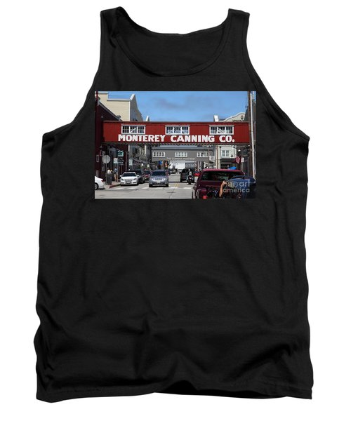 Monterey Cannery Row California 5d25029 Tank Top