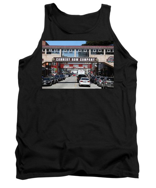 Monterey Cannery Row California 5d25034 Tank Top