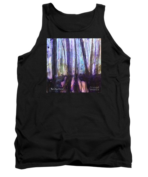 Moody Woods Tank Top by Robin Maria Pedrero