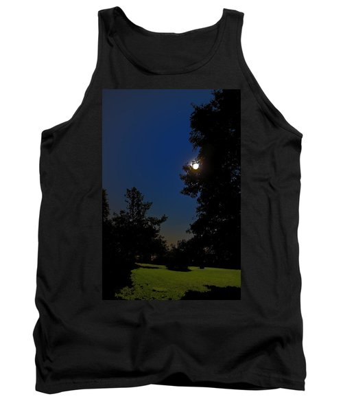 Tank Top featuring the photograph Moon And Pegasus by Greg Reed