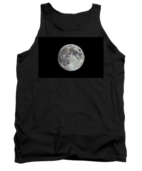 Tank Top featuring the photograph Moon Hdr by Greg Reed